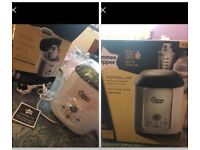 Tommy tippee bottle and breast milk warmer