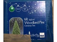"Artificial Christmas tree - 6 Foot ""Woodland Pine"""