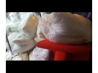 FREE TO COLLECTOR - Duvets & pillows - various sizes