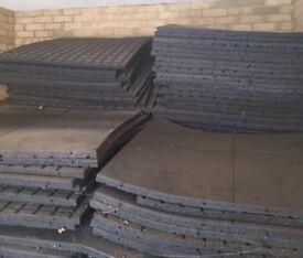Garage gym weight gym mat 1mx1mx20mm