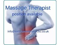 Job: Sports Massage Therapist wanted at Clinic in Esher