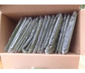 FOR SALE *BRAND NEW* 100 OLIVE GREEN ORGANZA CHAIR SASHES