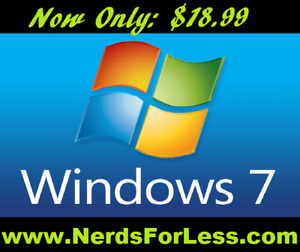 WINDOWS 7 // 8 // 10 GENUINE LICENSES AND SOFTWARE