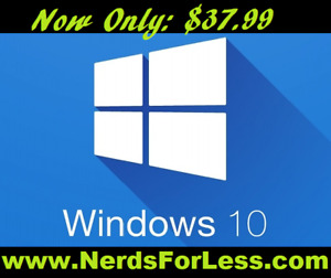 WINDOWS 10 // 7 // 8 GENUINE LICENSES AND SOFTWARE
