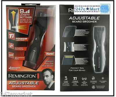 NEW Remington MB-200 Titanium Mustache and Beard Trimmer, BEST SHAVER!!