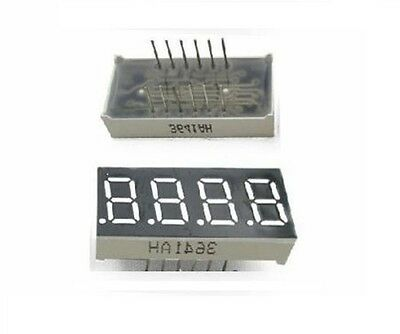 0.36inch 7 Segment 4 Digit Common Cathode 0.36 Red Led Digital Display