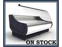 NEW £1238+VAT 133cm (4.3 feet) Serve Over Counter Display Fridge OFELIA N2508