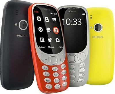 Nokia 3310 2017 Blue Yellow Red Dual Sim - Single Sim - Unlocked Smartphone