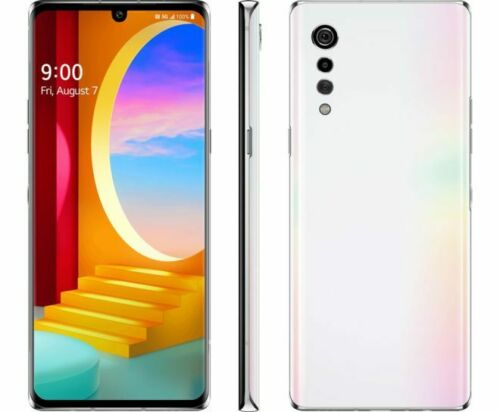 Brand New LG Velvet 5G LMG900TM 128GB Aurora White (T-Mobile+GSM Unlocked) Phone