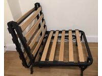 IKEA fold out chair bed. Frame only
