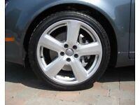 Audi a4 alloy wheels 5x112