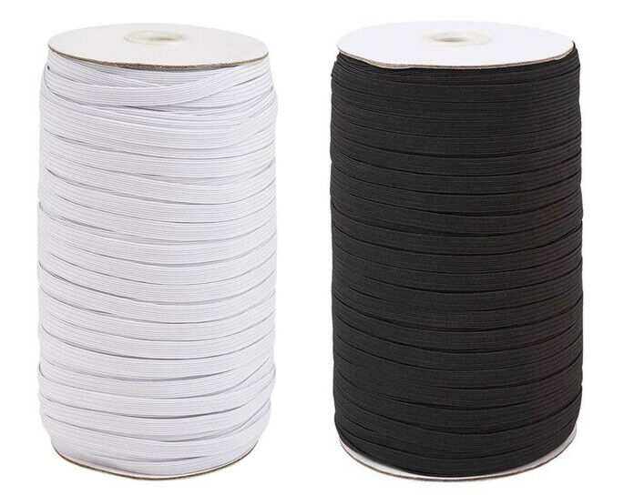 150 Yards Elastic Band Cord For DIY Trim Spandex Make Face Cover String 6 m m