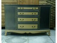 Up cycled sideboard / dresser