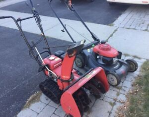 Snowblower repair and tuneup please text address at 4167108858