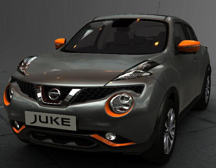 New Nissan Juke Exclusive Exterior Style Pack ORANGE New Genuine ...