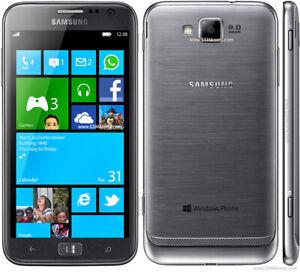 2 SAMSUNG ATIV S T899 /4.8 INCH 32 GB 8MP FACTORY UNLKD 59$CLIC