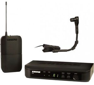 Shure  BLX14/B98 Instrument Wireless System with Beta 98H/C Mic