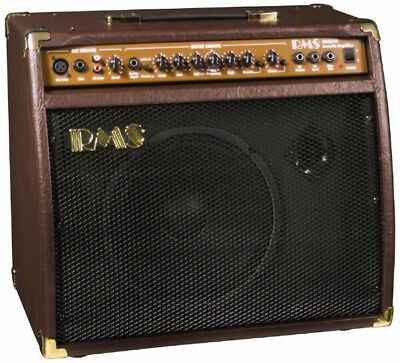 RMS AC-40 40-Watt Acoustic Guitar Amplifier Amp with Mic/Microphone Input ()