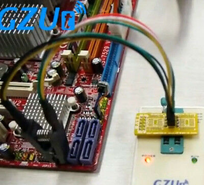 SOIC8 SOP8 Test Clip For EEPROM / 93CXX / 25CXX / 24CXX in-circuit programming