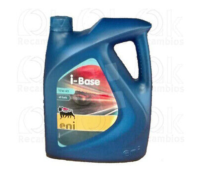 Aceite coche Eni i-Base Profesional 15W40 5Ltrs 103983