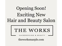 Seeking experienced beautician for fabulous new Hair and beauty salon in Marple