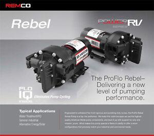 """RV Water Pump (NEW) 54 AQUAJET """"REBEL SERIES"""" 4gpm"""