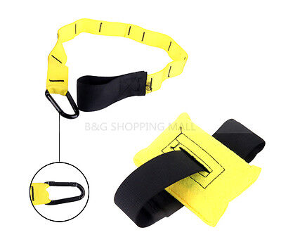 Suspension Trainer Straps Kit Home Training Crossfit Gym Yoga Workout Resistance
