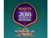 Road to Russia football cards