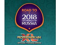 Road to Russia football cards 2018