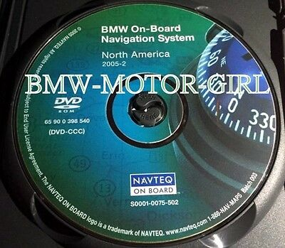 2004 2005 2006 BMW 645Ci 650i 545i 530i 550i NAVIGATION MAP DISC CD DVD CCC OEM