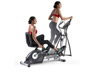 ProForm Hybrid Trainer. Exercise bike and an elliptical.