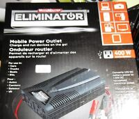 Motomaster Eliminator Mobile Power Outlet 400W inverter