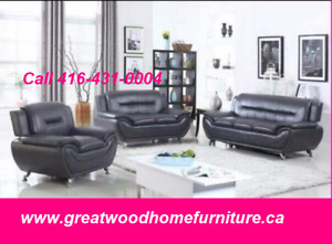 BRAND NEW 3 PIECE MODERN SOFA SET..$699 ONLY
