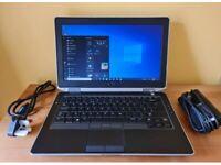 """DELL Latitude E6330 13"""" i5-3340M 8GB RAM 500GB SSD Win10 Pro DVD-RW Drive Webcam"""