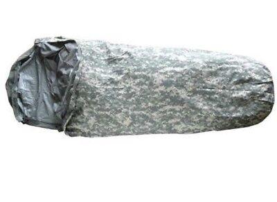 ACU Camo Gortex Waterproof Bivy Cover MSS Sleeping Bag System NEW US Military