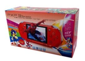 PORTABLE HANDHELD GAMES CONSOLE WITH 500+ GAMES