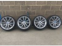 "20"" BMW m performance 624m alloy wheels f30 3 series"