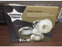 Tommee tippee electric breast pump for sale and breast pads