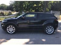2012 Land Rover Range Rover Evoque 2,2 litre diesel 3dr automatic 2 owners