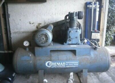 240v Used Air Compressor 150liter 14cfm