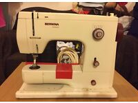 ANTIQUE BERNINA 807 SEWING MACHINE OFFER EXCEPTED
