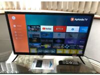 Brand New Boxed 32 inch Smart TV HD WiFi LED