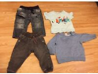 Boys clothing bundle age 9-12 months