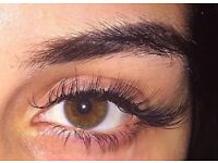 semi permanent eyelash extensions- model required