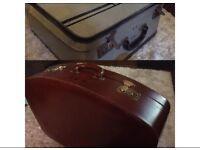 2 Vintage/Retro Suitcases