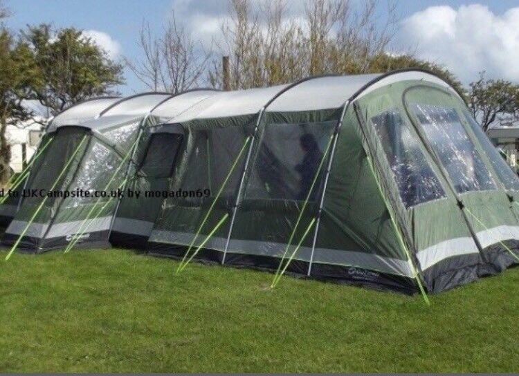 Outwell Montana 6 Tent With Front Extension In Doncaster
