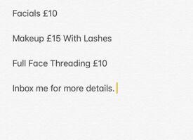 Facials Makeup Etc