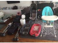 Stokke Xplory carry cots, travel cot, maclaren pram, high chair, travel prams and more