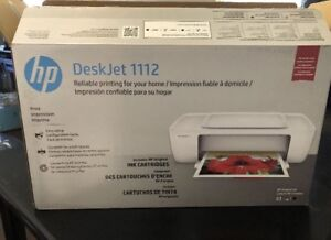 HP DeskJet 1112 Printer BNIB