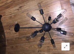Restoration Hardware style light fixture. (Sputnik)